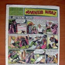Tebeos: JUVENTUD AUDAZ, Nº 2 - EDITORIAL VALENCIANA 1951. Lote 9386669