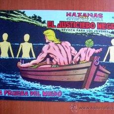 Tebeos: EL JUSTICIERO NEGRO, Nº 5 - EDITORIAL VALENCIANA 1965. Lote 9386733