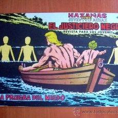 Tebeos: EL JUSTICIERO NEGRO, Nº 5 - EDITORIAL VALENCIANA 1965. Lote 9386744