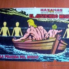 Tebeos: EL JUSTICIERO NEGRO, Nº 5 - EDITORIAL VALENCIANA 1965. Lote 9386758