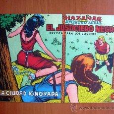 Tebeos: EL JUSTICIERO NEGRO, Nº 8 - EDITORIAL VALENCIANA 1965. Lote 9386795