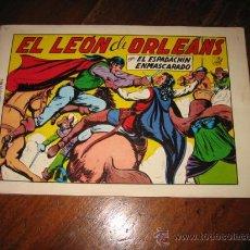 Tebeos: EL ESPADACHIN ENMASCARADO EL LEON DE ORLEANS Nº 9 2ª EDICION 1981. Lote 9413326