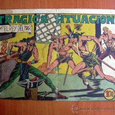 Tebeos: EL REY DEL MAR, Nº 18 - EDITORIAL VALENCIANA 1948. Lote 9530657