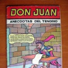 Tebeos: COLECCIÓN CASCABEL - DON JUAN, DON JUAN - EDITORIAL VALENCIANA 1955. Lote 9566296