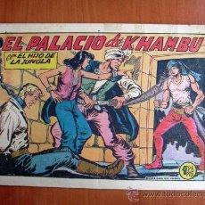Tebeos: EL HIJO DE LA JUNGLA, Nº 19 - EDITORIAL VALENCIANA 1956. Lote 9597378