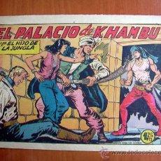 Tebeos: EL HIJO DE LA JUNGLA, Nº 19 - EDITORIAL VALENCIANA 1956. Lote 9597383