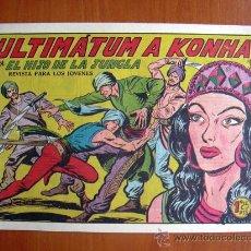 Tebeos: EL HIJO DE LA JUNGLA, Nº 12 - EDITORIAL VALENCIANA 1956. Lote 9597707