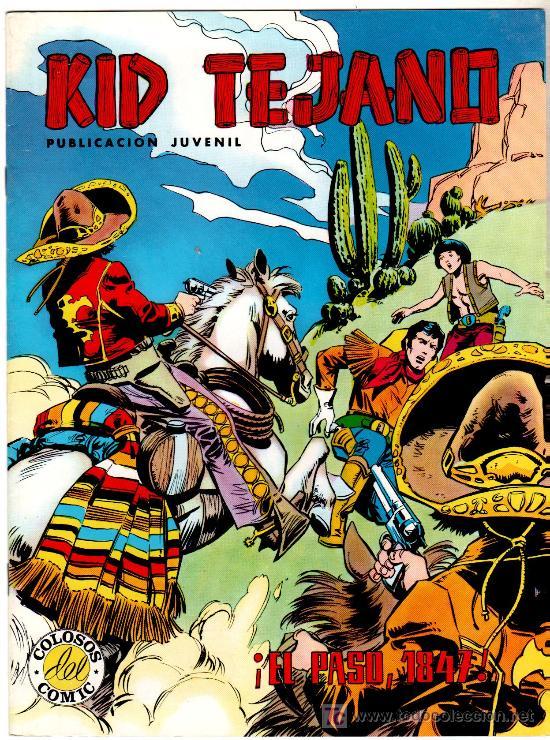 KID TEJANO , LOTE DE 17 NºS MUY NUEVOS, ESTÁ EL ÚLTIMO (Tebeos y Comics - Valenciana - Otros)
