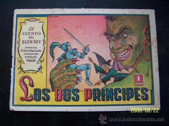 LOS DOS PRINCIPES-EL CUENTO DEL BUEN REY Nº5-TEXTO PEDRO QUESADA-DIB. EMILIO. FREJO-EDT: VALENCIANA (Tebeos y Comics - Valenciana - Otros)