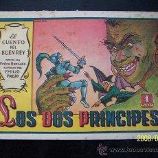 Tebeos: LOS DOS PRINCIPES-EL CUENTO DEL BUEN REY Nº5-TEXTO PEDRO QUESADA-DIB. EMILIO. FREJO-EDT: VALENCIANA. Lote 15143237
