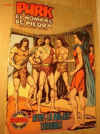 CÓMIC PURK EL HOMBRE DE PIEDRA -ATILY, LA MUJER TERRIBLE- Nº 14, AÑO 1974. (Tebeos y Comics - Valenciana - Purk, el Hombre de Piedra)