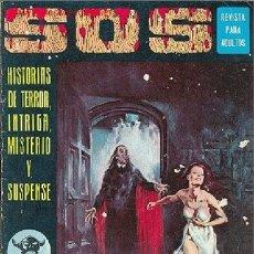 Tebeos: SOS Nº 20 - HISTORIAS DE TERROR, INTRIGA Y SUSPENSE. Lote 37427353