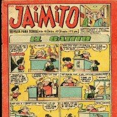 Tebeos: EDITORIAL VALENCIANA-REVISTA PARA TODOS JAIMITO AÑOXII,Nº 417,5 OCTUBRE 1957. Lote 21293764