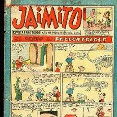 Tebeos: EDITORIAL VALENCIANA-REVISTA PARA TODOS JAIMITO AÑOXIII,Nº 481,27 DICIEMBRE 1958. Lote 21293765