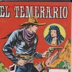 Tebeos: EL TEMERARIO COMPLETA 10 NºS , 2ª EDICION 1981-VALENCIANA PERFECTAMENTE ENCUADERNADA-M.GAGO CAJA117. Lote 24890941