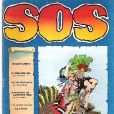 Tebeos: SOS - EL DIOS DEL SOL ¡¡¡¡ EPOCA 2 NUM 1 ¡¡¡¡¡. Lote 11596588