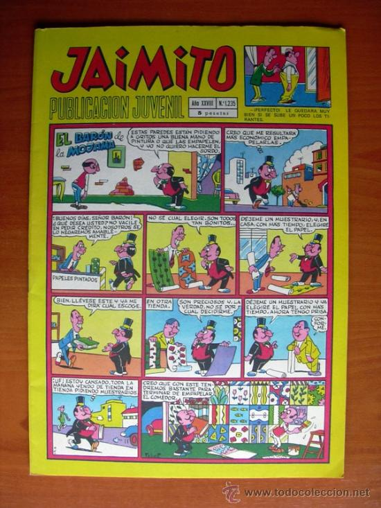 JAIMITO, Nº 1235 - EDITORIAL VALENCIANA (Tebeos y Comics - Valenciana - Jaimito)