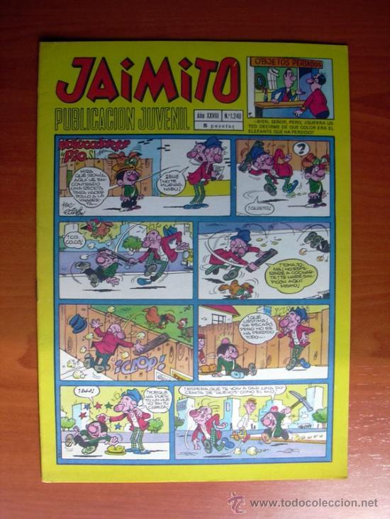 JAIMITO, Nº 1240 - EDITORIAL VALENCIANA (Tebeos y Comics - Valenciana - Jaimito)