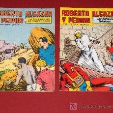 Tebeos: LOTE DE DOS COMICS ROBERTO ALCAZAR Y PEDRIN. Lote 10150251