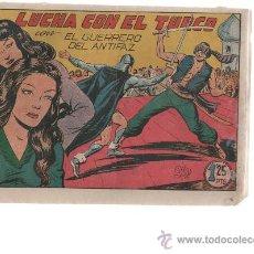 Tebeos: GUERRERO DEL ANTIFAC Nº139 ORIGINAL. Lote 10275348