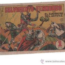 Tebeos: GUERRERO DEL ANTIFAC Nº35 ORIGINAL. Lote 10300547