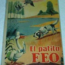 Tebeos: EL PATITO FEO RARISIMO EJEMPLAR DE VALENCIANA 1962 TAPA DURA ORIGINAL. Lote 24855339