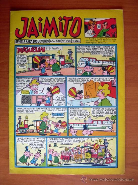 JAIMITO, Nº 906 - EDITORIAL VALENCIANA (Tebeos y Comics - Valenciana - Jaimito)