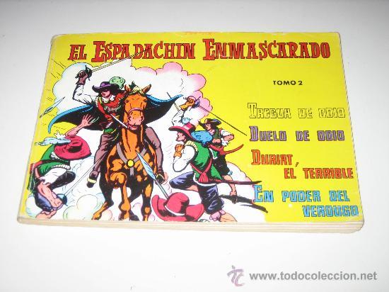 EL ESPADACHIN ENMASCARADO.-TOMO 2 (Tebeos y Comics - Valenciana - Espadachín Enmascarado)