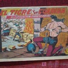 Tebeos: EL ESPADACHIN ENMASCARADO Nº 153. EL TIGRE Y SU GUARIDA. ED. VAENCIANA (ORIGINAL). Lote 13165976