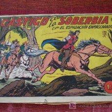 Tebeos: EL ESPADACHIN ENMASCARADO Nº 176. CASTIGO A LA SOBERBIA. ED. VAENCIANA (ORIGINAL). Lote 15967446