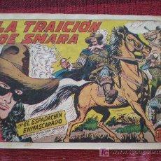 Tebeos: EL ESPADACHIN ENMASCARADO Nº 220. LA TRAICION DE SMARA. ED. VALENCIANA (ORIGINAL). Lote 19494527