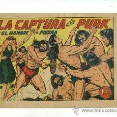 Tebeos: EL HOMBRE DE PIEDRA - LA CAPTURA DE PURK Nº 116 - EDITORIAL VALENCIANA . Lote 16663931