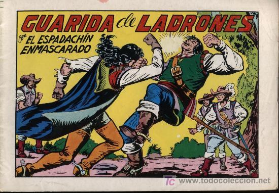 EL ESPADACHÍN ENMASCARADO. .1981. Nº 47 (Tebeos y Comics - Valenciana - Espadachín Enmascarado)