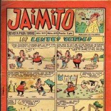 Tebeos: JAIMITO - Nº 610 AÑO XVI - EDITORIAL VALENCIANA 1961. Lote 19110651