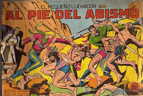EL PEQUEÑO LUCHADOR - Nº 46 - EDITORIAL VALENCIANA 1961 - ORIGINAL, NO FACSIMIL (Tebeos y Comics - Valenciana - Pequeño Luchador)