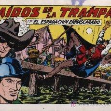 Tebeos: EL ESPADACHÍN ENMASCARADO 2ª. 1981. 3 EN 1. Nº 54. Lote 11333062