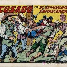 Tebeos: EL ESPADACHÍN ENMASCARADO 2ª. 1981. 3 EN 1 Nº 42. Lote 11333295