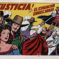 Tebeos: EL ESPADACHÍN ENMASCARADO 2ª. 1981. 3 EN 1 Nº 2. Lote 11333590