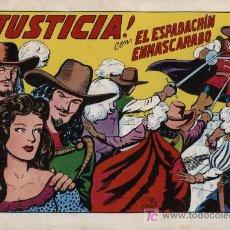 Tebeos: EL ESPADACHÍN ENMASCARADO 2ª. 1981. 3 EN 1 Nº 2. Lote 11333608