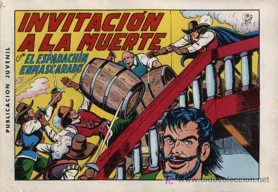 EL ESPADACHÍN ENMASCARADO 2ª. 1981. 3 EN 1 Nº 3 (Tebeos y Comics - Valenciana - Espadachín Enmascarado)