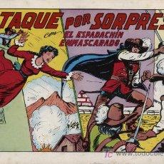 Tebeos: EL ESPADACHÍN ENMASCARADO 2ª. 1981. 3 EN 1 Nº 4. Lote 11333734