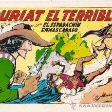 Tebeos: EL ESPADACHIN ENMASCARADO COLECCION COMPLETA 84 NUMEROS EDICION 1981 EDITORIAL VALENCIANA. Lote 41472110