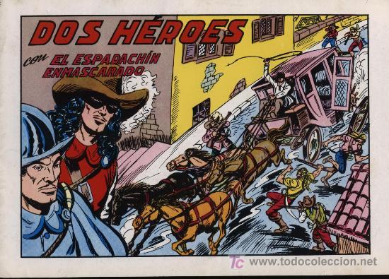 EL ESPADACHÍN ENMASCARADO 2ª. 1981. 3 EN 1 Nº 53 (Tebeos y Comics - Valenciana - Espadachín Enmascarado)