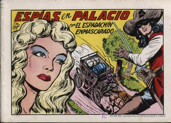 EL ESPADACHÍN ENMASCARADO 2ª. 1981. 3 EN 1 Nº 46 (Tebeos y Comics - Valenciana - Espadachín Enmascarado)