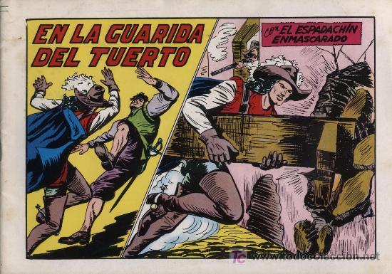 EL ESPADACHÍN ENMASCARADO 2ª. 1981. 3 EN 1 Nº 45 (Tebeos y Comics - Valenciana - Espadachín Enmascarado)