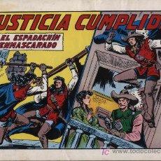 Tebeos: EL ESPADACHÍN ENMASCARADO 2ª. 1981. 3 EN 1 Nº 44. Lote 11358431