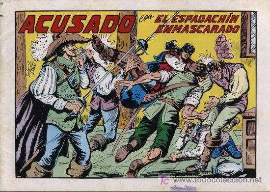 EL ESPADACHÍN ENMASCARADO 2ª. 1981. 3 EN 1 Nº 42 (Tebeos y Comics - Valenciana - Espadachín Enmascarado)