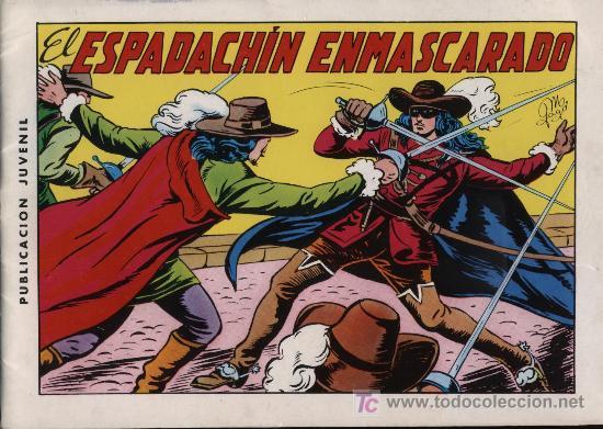 EL ESPADACHÍN ENMASCARADO 2ª. 1981. 3 EN 1 Nº 1 (Tebeos y Comics - Valenciana - Espadachín Enmascarado)