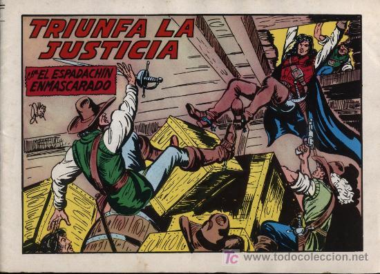 EL ESPADACHÍN ENMASCARADO 2ª. 1981. 3 EN 1 Nº 62 (Tebeos y Comics - Valenciana - Espadachín Enmascarado)
