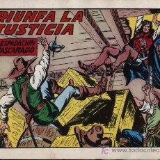 Tebeos: EL ESPADACHÍN ENMASCARADO 2ª. 1981. 3 EN 1 Nº 62. Lote 11358671